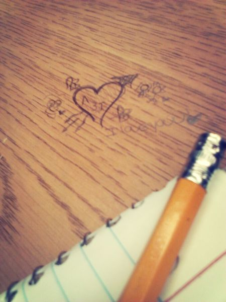 Bored Love Table Pencil Something I Drew