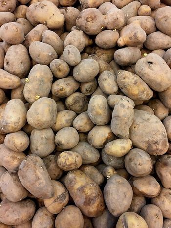 Potato Potato EyeEm Selects Large Group Of Objects Healthy Eating Vegetable Market Raw Potato Retail  Root Vegetable Consumerism For Sale Abundance Food And Drink Food Freshness No People Full Frame Close-up Business Finance And Industry Healthy Lifestyle Backgrounds Day
