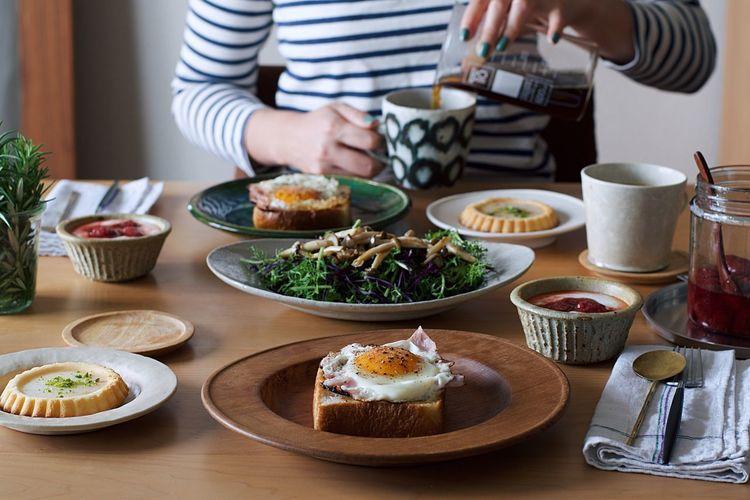 Foodstyling 暮らし おうちカフェ Food Contrast Table Nikon Japan Life Cake Onmytable Onthetable 朝食 朝ごはん Morning Breakfast My Favorite Breakfast Moment Interior 食卓 おうちごはん Coffee