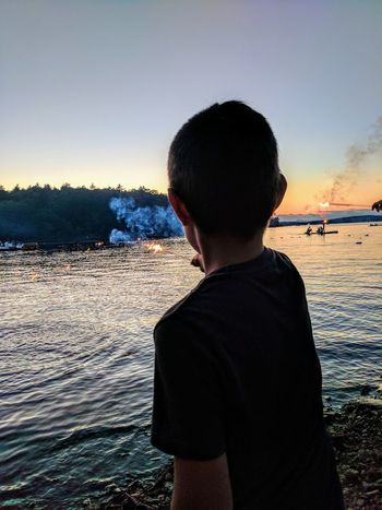 Boy Beautiful ♥ Children Having Fun In The Summertime Sparkler 💖 Lake Life Kidsbeingawesome The Small Things In Life