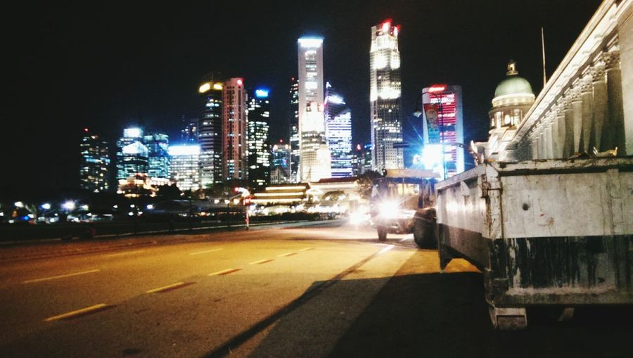 Cityscapes Singapore Keep It Real Nightlife Citylights