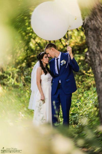Neture Feeling Thankful Portrait Wedding Photography