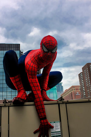 Spiderman Cosplay Marvel Comics My Photography