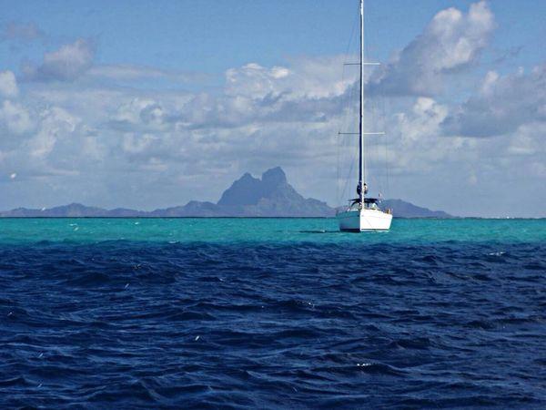 Shades of blue Bora Bora  Taking Photos Enjoying Life Traveling