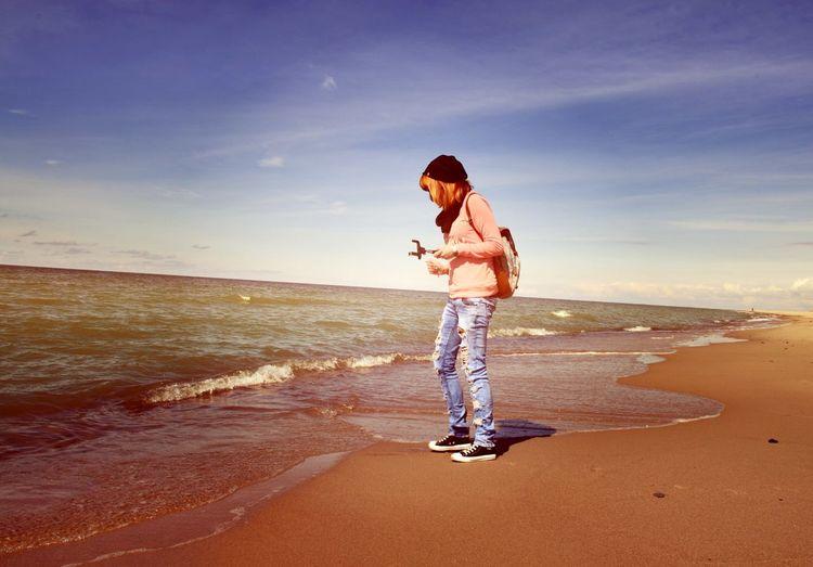 Beach Sea Keningsberg Relaxation Sun