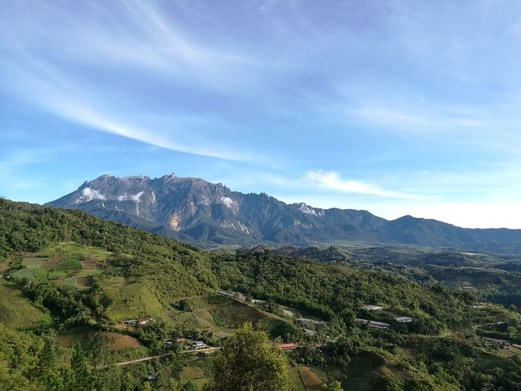 The beautiful and magestic of mount kinabalu TakeoverContrast Unedited Mount Kinabalu Sabah Borneo Beauty In Nature Mountain Range Countryside