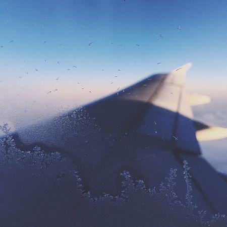 Flying Aeroplane AirPlane ✈ British Airways Ice