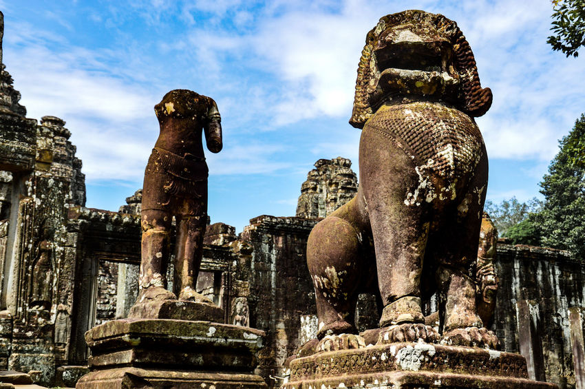 EyeEm Selects Bayon Bayon Temple, Cambodia Bayon Temple Spirituality Khmer Culture Khmer Empire Siem Reap, Cambodia Ancient Civilization UNESCO World Heritage Site Travel Travel Destination ASIA Tourism Travel Photography Ancient Ruins