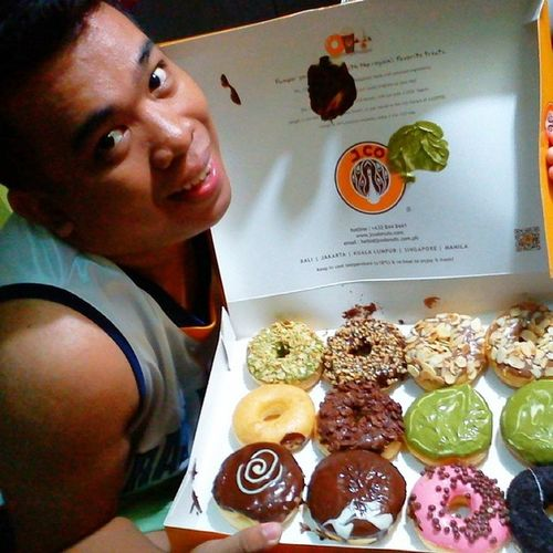 I love donuts my God :)) Thank you ate mary joy for this ! Love lots :D WeLoveyouate Jcodonuts .