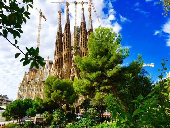 Sagrada Familia Barcelona, Spain Barcelona Barça Love