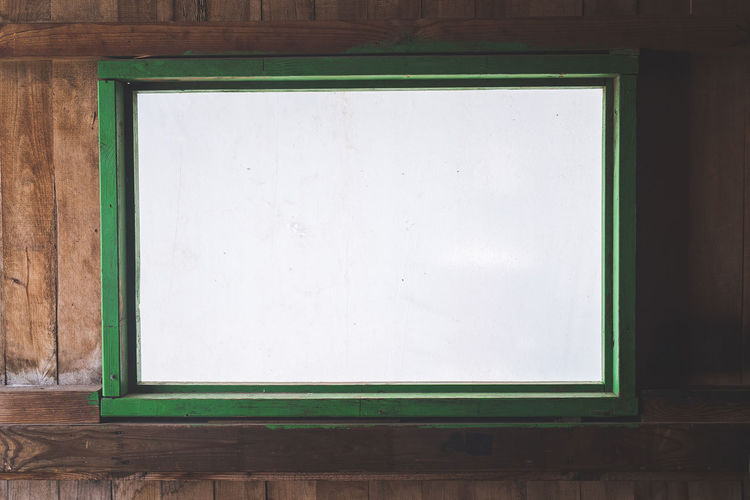 Window Photography Photograph Old-fashioned Frame Retro Styled Blank Wood - Material Ancient Close-up Green Color Window Sill