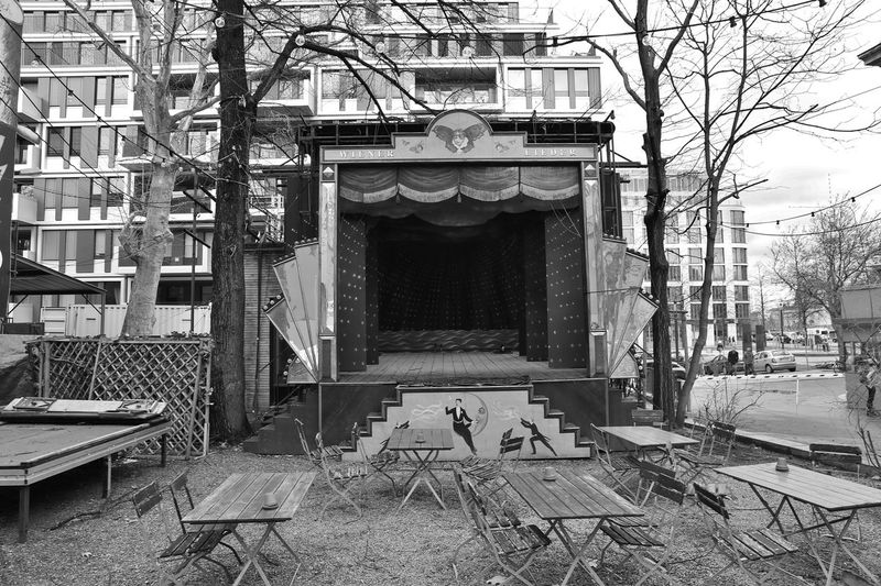Architecture Be Berlin Berliner Ensemble Built Structure Bühne Day No People Outdoors S/w Stage Theater Trzoska