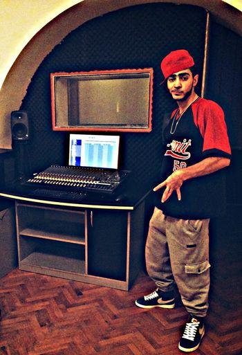 money Studio session