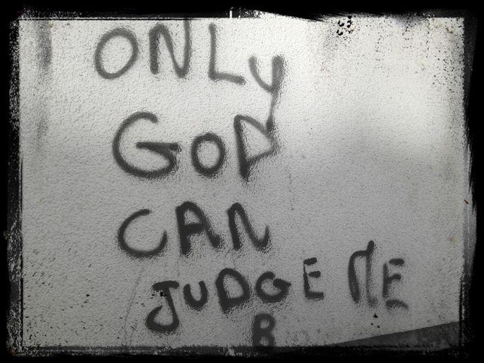 Graffiti Wall Message
