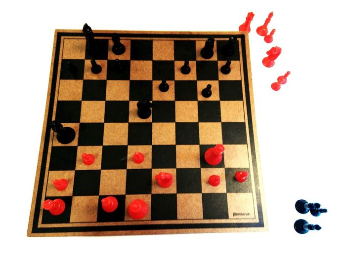 Chess. Game Thought Precision Skill