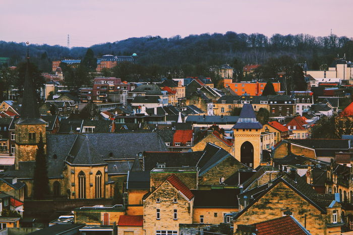 EyeEm Selects Cityscape Architecture City Building Exterior Outdoors Valkenburg -Netherlands Urban Skyline Stories From The City Go Higher Residential Structure Residential District Urban Scene Crowded TOWNSCAPE Rooftop Roof Residential Building Building Town Housing Settlement