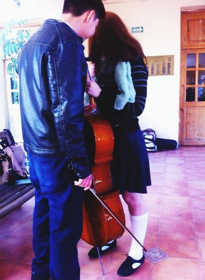 I fell in lleve with a cellist Cellist Musica