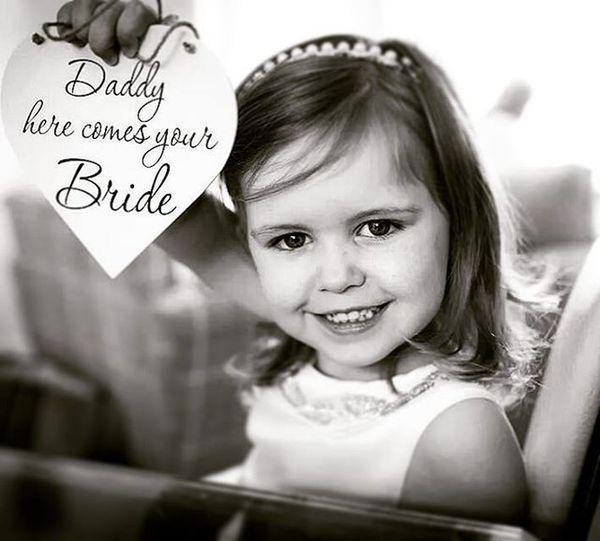 Flower Girl Daddysgirl Flowergirl Weddingday  Weddingphotography Weddingphotographer Weddingdress Weddinginspiration Weddingsign Weddingscotland Blackandwhite Nikon Sigma 35mm Johncampbellclark Glasgow