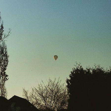 Ja ist denn schon Frühling? Köln Kolle Heißluftballon HTC HTCOneM9 OneM9