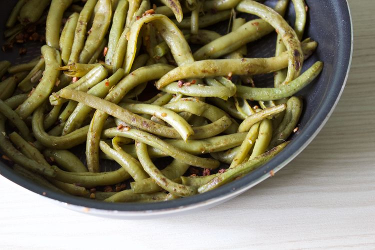 Food And Drink Food Freshness Healthy Eating Vegetable Wellbeing Bowl Ready-to-eat No People Green Close-up Beans Haricot Vegetarian Food Green Bean Serving Size