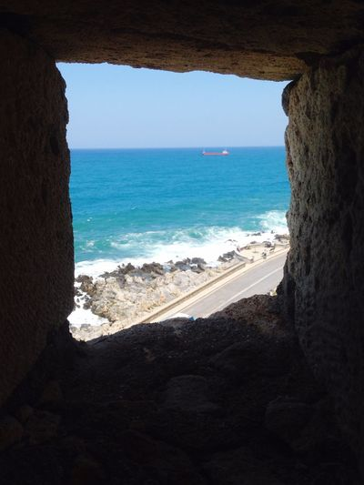 Fortress Vacation Crete Greece Sea Window View