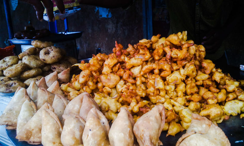 Street food Snack Time! Food Photography Indian Food Street Food Samosa Pakoras Snacks! Junk Food Street Photography Street Sellers