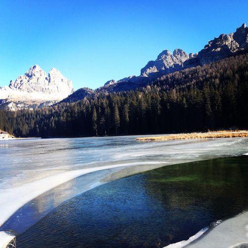 EyeEm Nature Lover Dolomites, Italy Mountains Lake Lago Di Misurina Italy alps
