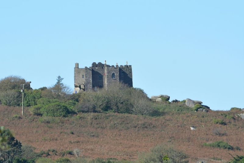 History Architecture Castle Building Exterior Outdoors No People Fort Day Built Structure Travel Destinations Clear Sky Nature Sky Carn Brea Cornwall
