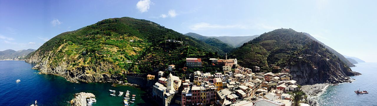 Vernazza Cinqueterre Cinque Terre Italy Italy❤️ Panorama Panoramic Iphonephotography Summer Views IPhoneography