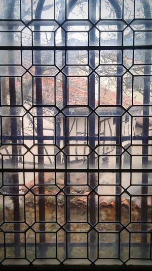 Glass Windows Church Village Burgos Covarrubias Travel Walking Nice Transparent The View From My Window