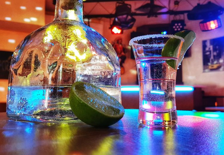 Tequila Time Tequilaaaa❤ Tequila Shots Drink Drinking Glass Table Alcohol Bottle Close-up Food And Drink The Still Life Photographer - 2018 EyeEm Awards