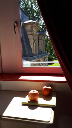 Window Window Sill Table French Food City Architecture Sweet Food Built Structure