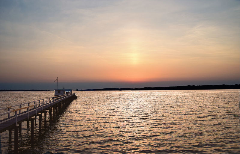 EyeEm Best Shots EyeEm Nature Lover Morning Light WOW Beauty In Nature Built Structure Horizon Horizon Over Water Idyllic Jetty Landscape Nature No People Non-urban Scene Orange Color Outdoors Pier Scenics - Nature Sea Sky Tranquil Scene Tranquility Water Waterfront