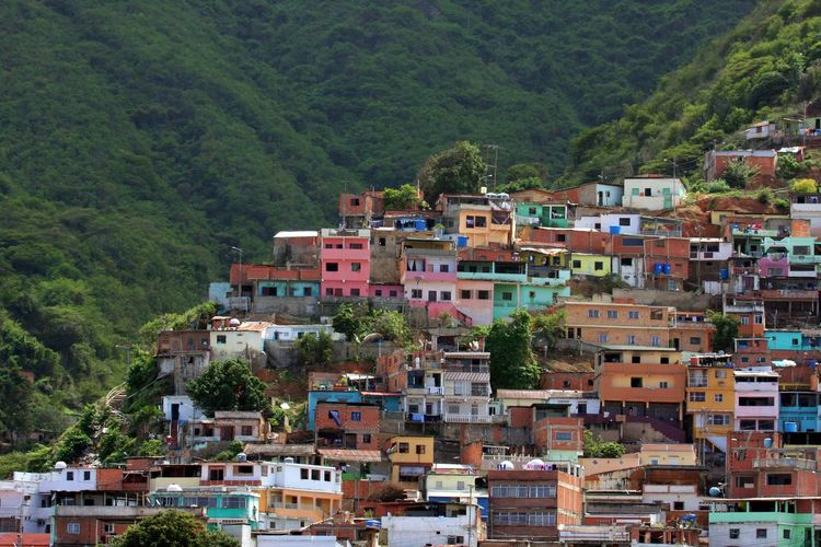 Architecture Building Exterior Built Structure City Day Favela House Mountain No People Outdoors Residential Building Tree