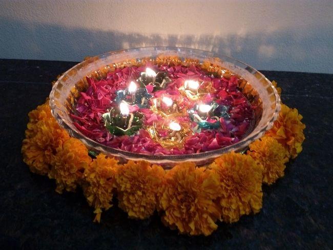 No People Illuminated Indoors  Diwali Diya - Oil Lamp Close-up Day indoors My House ~~