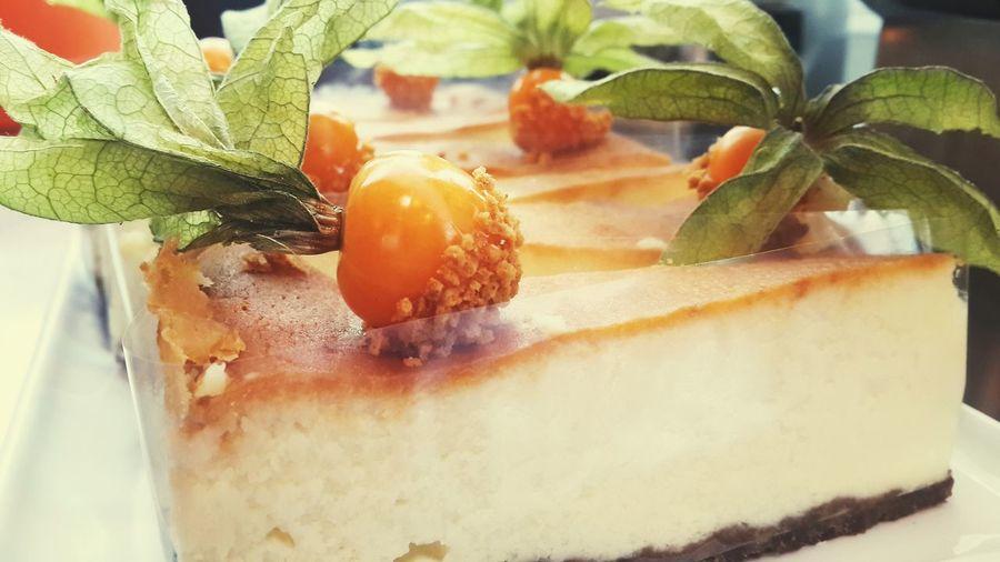Delicious cheesecake