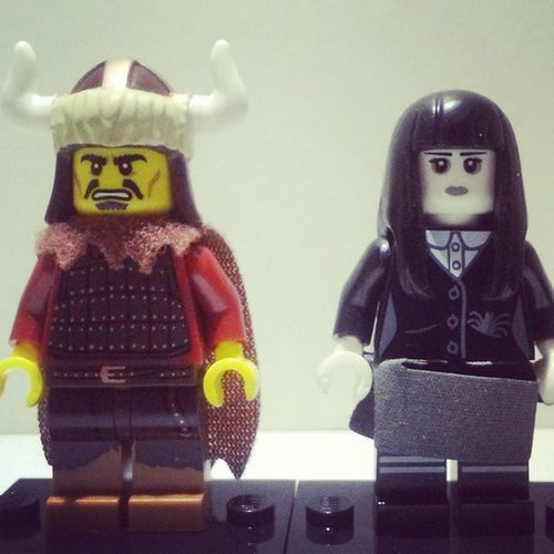 Here are my other new series figs sorry i didn't post earlier...this weekend was crazy busy! I remember i said five the other one was just another girl fig!!! LEGO Series12 Viking Weirdgirl newgreatwowfollowlikebeawesomegreatcloudsbrickspiecesteddyaccessories