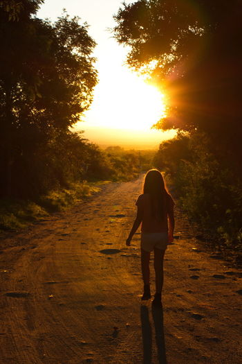 Nono Cordoba-argentina People Sunset Nature Tree Rear View Silhouette Day Back Outdoors Vacations Adult Adults Only Full Length One Person One Man Only Human Body Part Only Men Human Back Walking Real People Landscape Road The Way Forward Standing Sky Young Adult