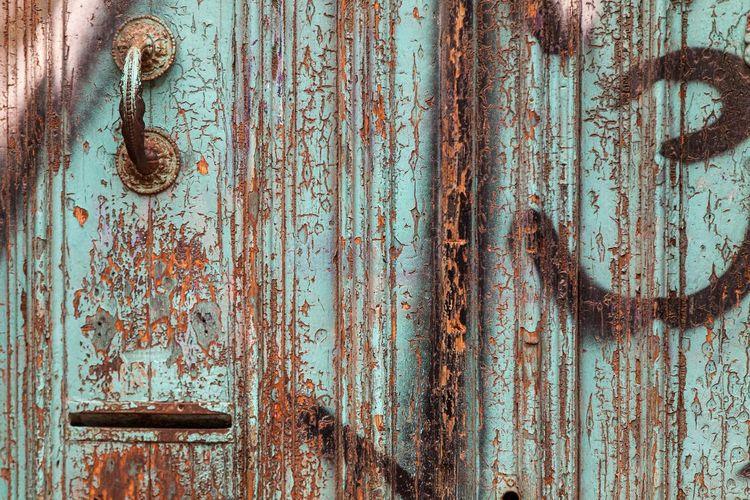 Patina/old door