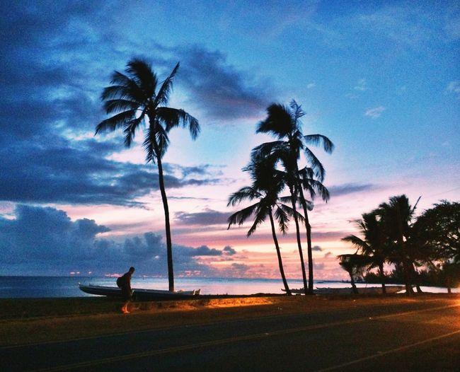 The Explorer - 2014 EyeEm Awards Sunset Hawaii Beach
