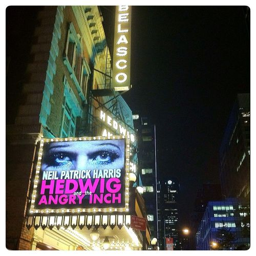 All I can say about Neil Patrick Harris in Hedwig On Broadway is wow! Tour de force! New York