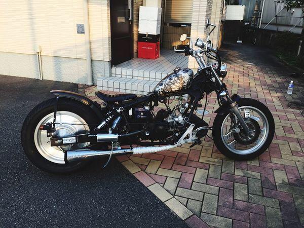 Motorcycle マグナ50 Magna50 Moterbike Honda