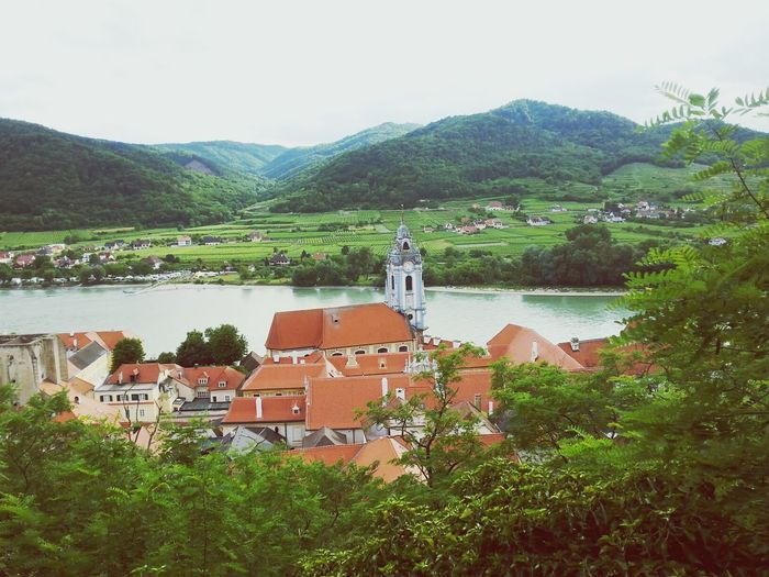 Church Dürnstein Wachau Donau