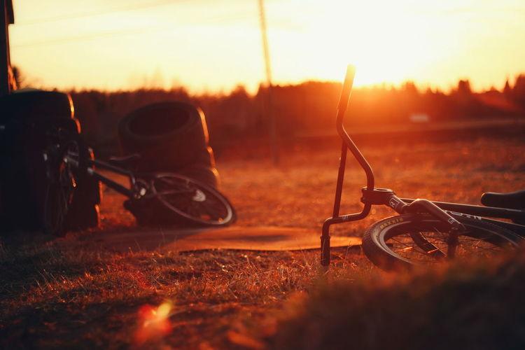 Rimlight Bmx  WTP Wethepeoplebmx Summer Finland Sunset Glorydays Golden Hour