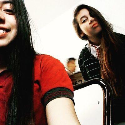En el cole con mi hermanita hermosa ♡ @pricordoba @prisci_cordoba