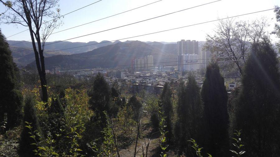 这就是我生活了近30年所在的地方 阳泉阳煤三矿 From my huawei Ascend Mate7