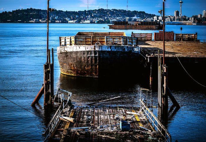 Seattle Ocean Harbor Nikonphotography Hrd Nikon D3200 Eyem Best Shots EyeEm Best Edits Eyembestpics Rust