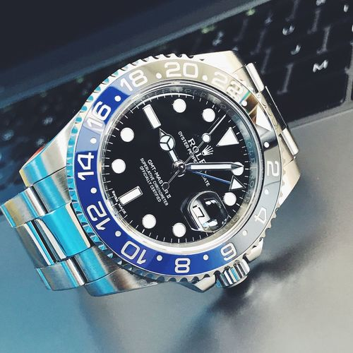 Wristwatch No People Watch Time Rolex Rolexgmtmaster2 Blnr Rolex Watch Luxary