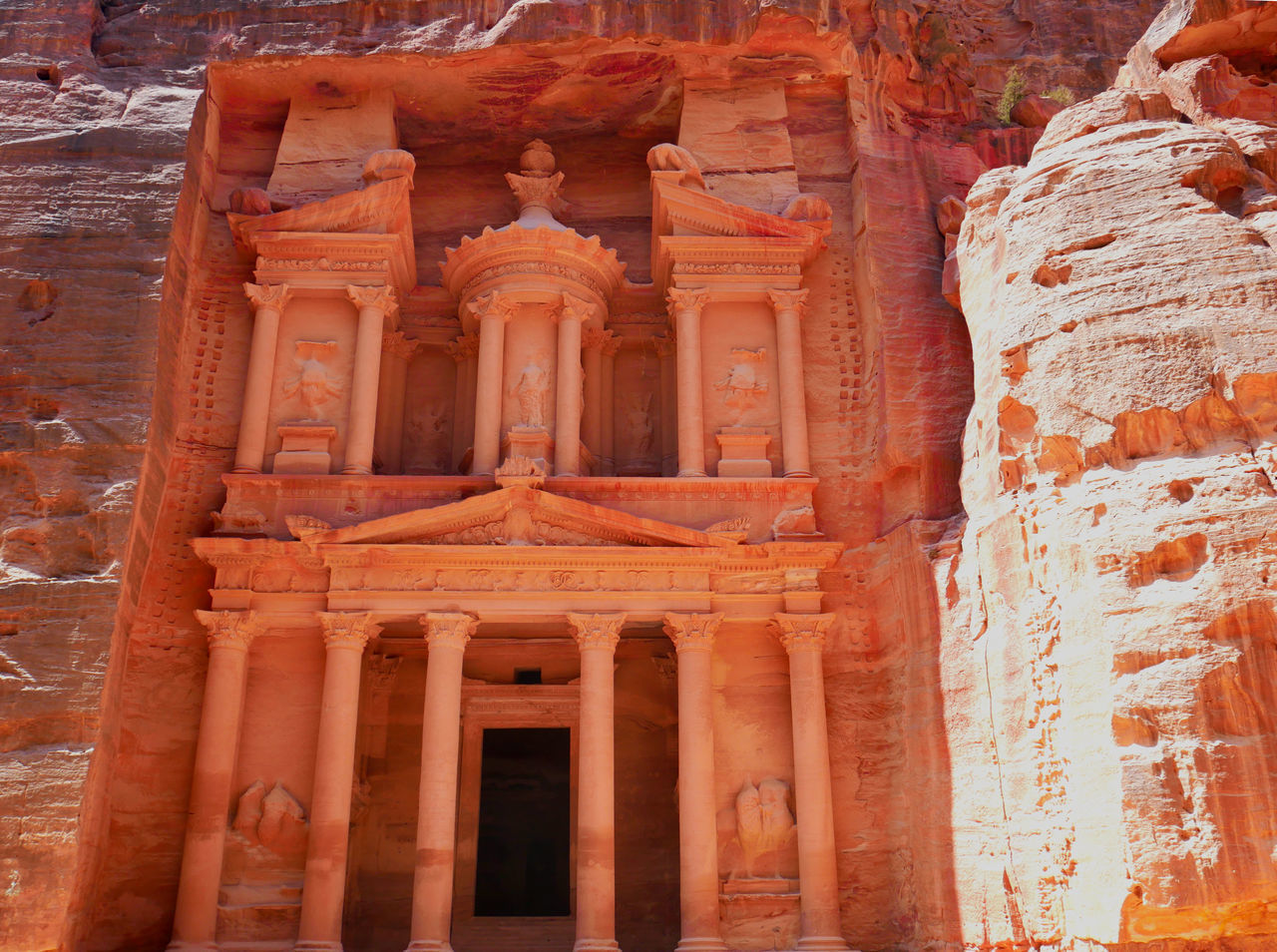 architecture, history, the past, built structure, architectural column, travel destinations, building exterior, ancient, no people, travel, low angle view, tourism, old, day, art and craft, building, ancient civilization, craft, arch, outdoors, ancient history, archaeology, place of worship, sandstone, carving