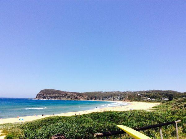 Copacabana beach autralia new south wales